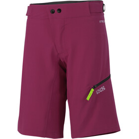 IXS Carve Shorts Women Aubergine